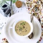 Zupa krem  z selera i czekolady