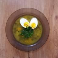 Kremowa zupa szczawiowa – bez zabielania