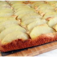 Lekkie ciasto z gruszką i imbirem