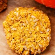 Owsiane ciasteczka dyniowe ze słonecznikiem (bez mąki, jajek i cukru)