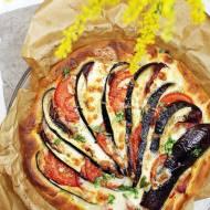 Tarta z bakłażanem i mozzarellą