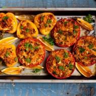 Pomidory faszerowane bulgurem