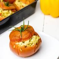 Pomidory faszerowane ryżem i kurczakiem