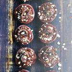 Czekoladowe muffinki a`la kladdkaka