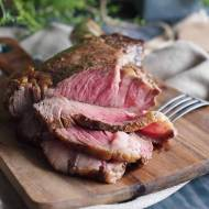Stek z sosem grzybowym / Steak with mushroom sauce