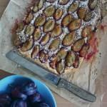 Półkruche ciasto ze śliwkami