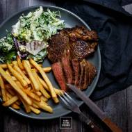 Whiskey steak – steki wołowe z rostbefu w marynacie whiskey