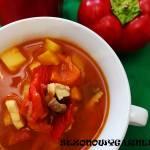 Halaszle – węgierska zupa rybna