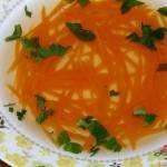 Rosołek zvegetti marchwiowym – dieta drDąbrowskiej