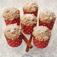 Cynamonowe muffinki na maślance