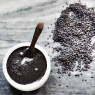 Domowe tahini z czarnego sezamu