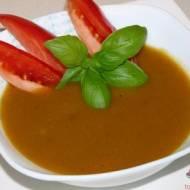Kremowa zupa kalafiorowo-pomidorowa – dieta drDąbrowskiej