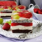 Ciasto z arbuzem