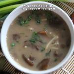 Najprostsza zupa z grzybów leśnych
