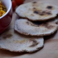 Indyjskie chlebki Czapati