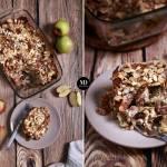 Zapiekanka makaronowa z jabłkami, serem i cynamonem