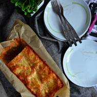 Lazania wegetariańska - z soczewicą