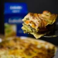 wegetariańska lasagne z surowych warzyw