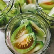 Zimowa sałatka z zielonych pomidorów