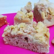 Ciasto z JABŁKAMI i MIGDAŁOWĄ KRUSZONKĄ (ciasto na jogurcie)