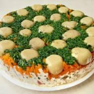 Sałatka grzybowa czy może tort warzywny?