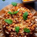 Orkiszowe ciasto z brzoskwiniami FIT