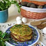 Placuszki ziemniaczano warzywne z serem