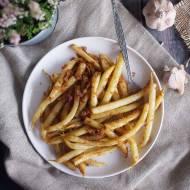 Fasolka szparagowa z maślaną bułka tartą / Beans with buttery breadcrumbs