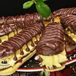Błyskawiczne eklerki w czekoladzie