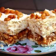 Ciasto biały lion - bez pieczenia