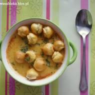 Zupa dyniowa z wędzoną papryką