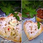 Pieczony serniczek z orzechami włoskimi i kandyzowaną skórką