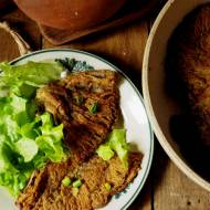Bezglutenowe, wegańskie kotlety z kań