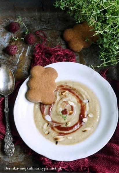 Zupa krem z selera z piernikowa nuta