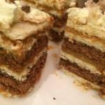 Karmelowe ciasto bez pieczenia