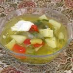 zupa na maśle warzywna z papryką...