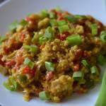 Kasza jaglana z kurczakiem w curry