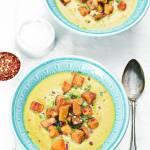 Krem z kapusty i pora -czyli zupa bez włosów