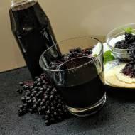 Sok z owoców czarnego bzu- na zdrowie!