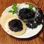Dżem z owoców czarnego bzu