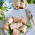 Śniadaniowe roladki z papryką