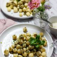 Gnocchi jaglane z palonym masłem – bez jajka i bez glutenu
