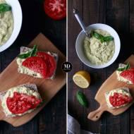Pasta z awokado z jajami i majonezem wegańskim