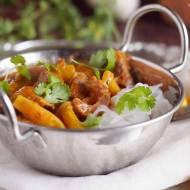 Tajskie czerwone curry z dynią i gęsią / Thai red curry with goose and pumpkin