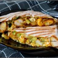 Tortille z kurczakiem i cukinią