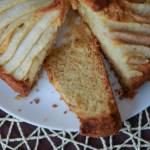 Ciasto imbirowe z gruszkami