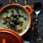 Jesienna zupa grzybowa