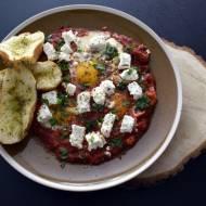 Shakshuka- Śniadanie dla mistrzów z jajkiem sadzonym