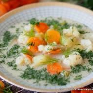 Zupa kalafiorowa na kwaśno