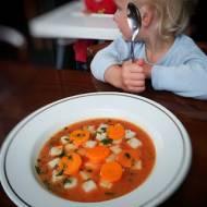 Zupa pomidorowa dla dziecka
